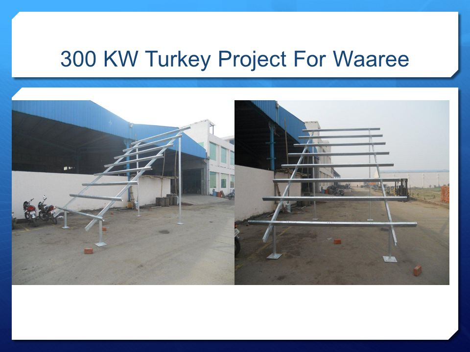 300 KW Turkey Project For Waaree