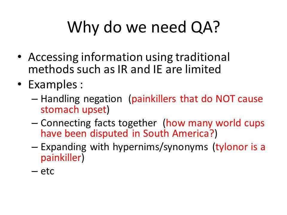 Why do we need QA.