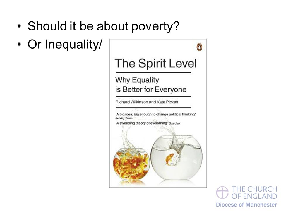 Should it be about poverty Or Inequality/