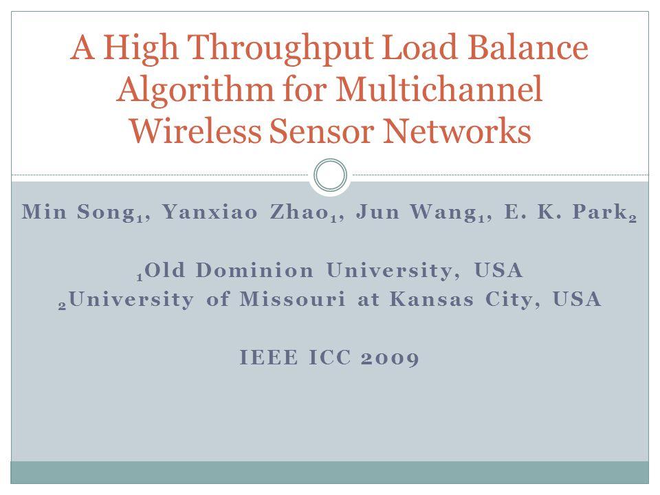 Conclusion We have presented a novel load-balance algorithm for multi-channel sensor networks.