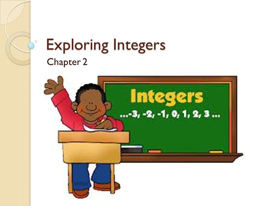 Exploring Integers Chapter 2