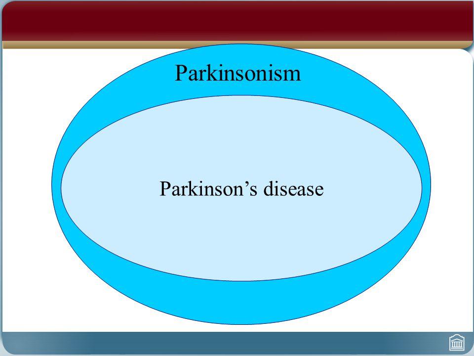 Parkinson's disease Parkinsonism