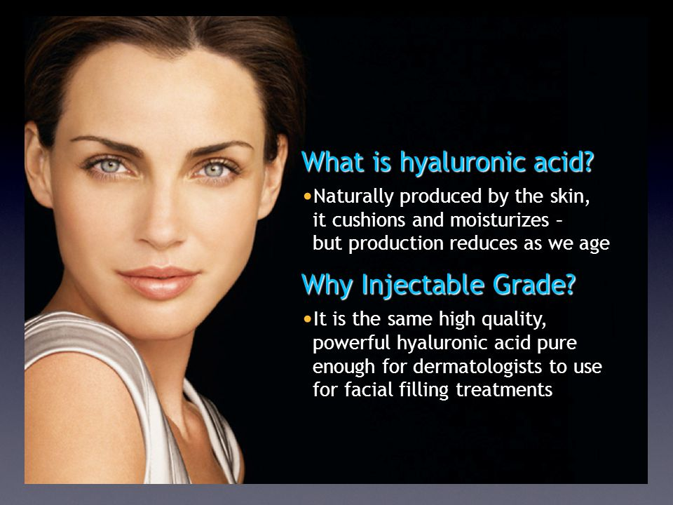 What is hyaluronic acid.