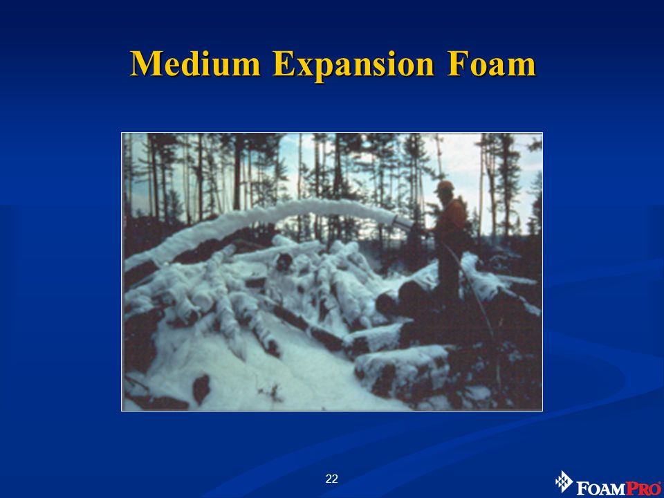 22 Medium Expansion Foam