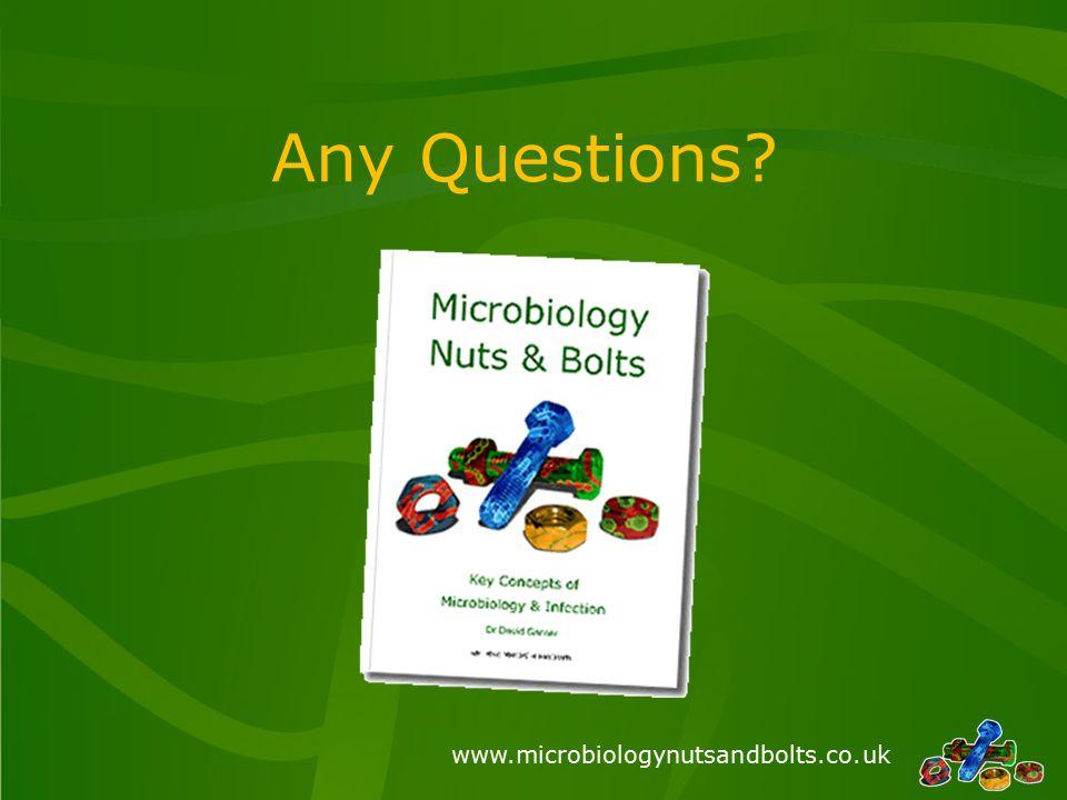 www.microbiologynutsandbolts.co.uk Any Questions?