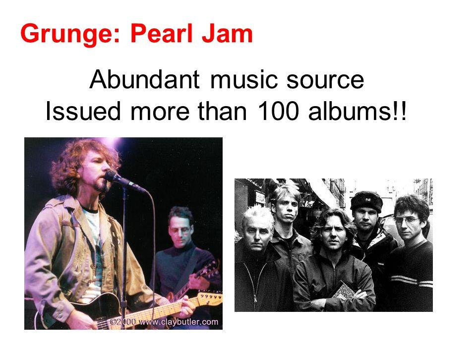 Grunge: Pearl Jam Ten Vs. [1991] [1993]