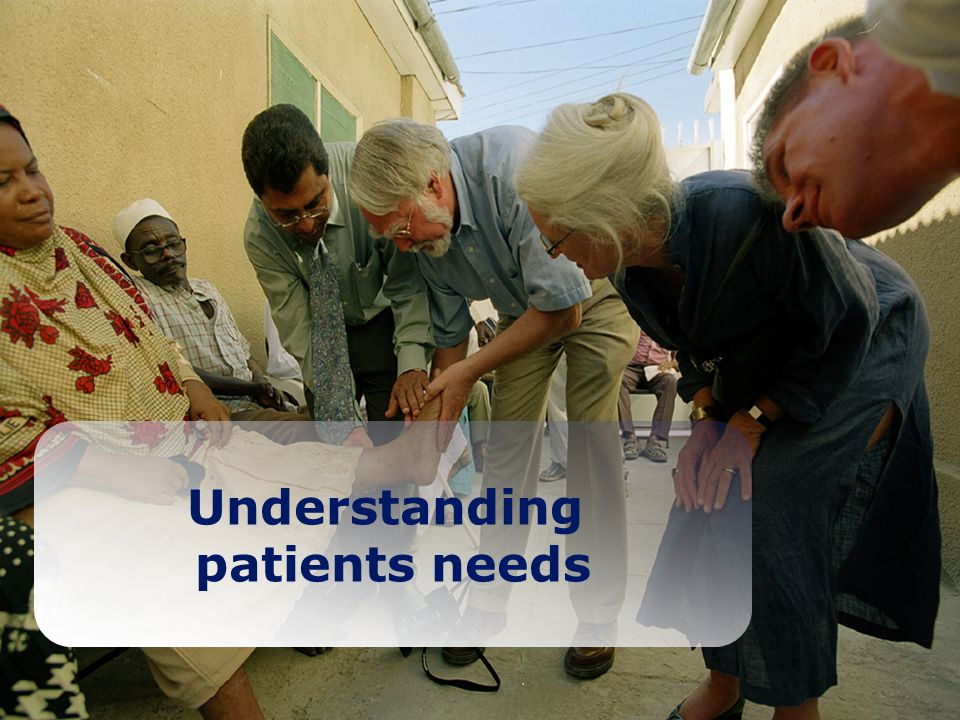 Slide No 14 Understanding patients needs