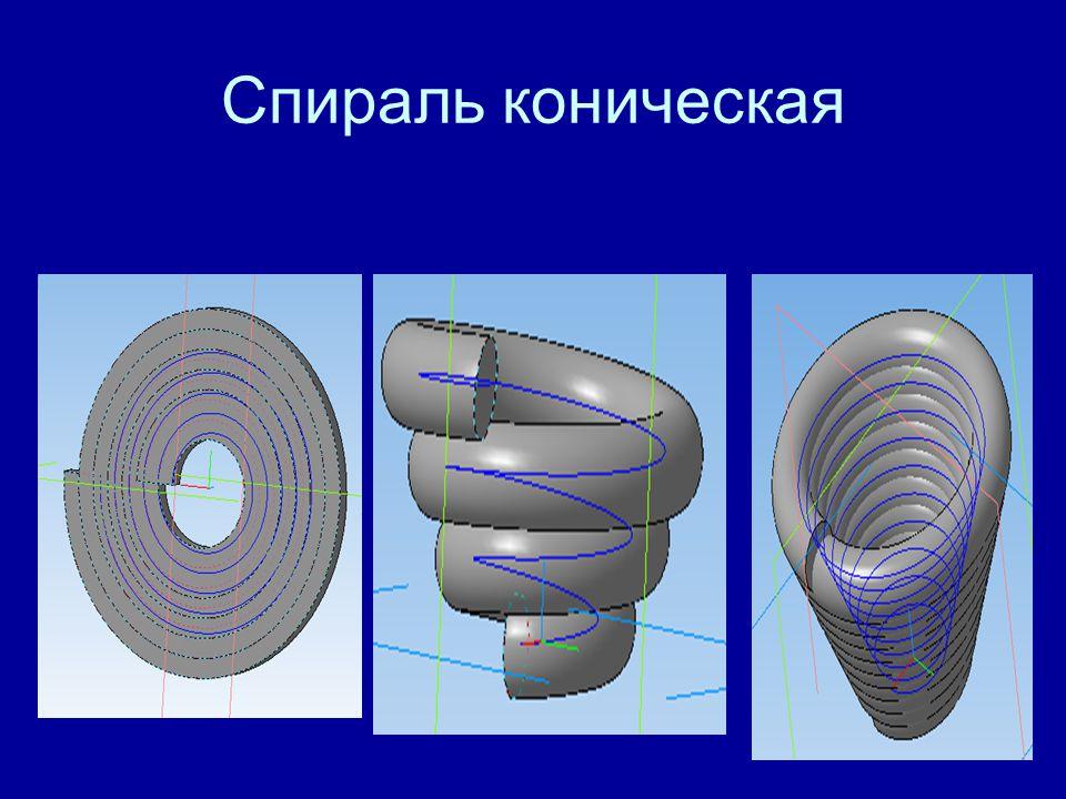 Спираль коническая