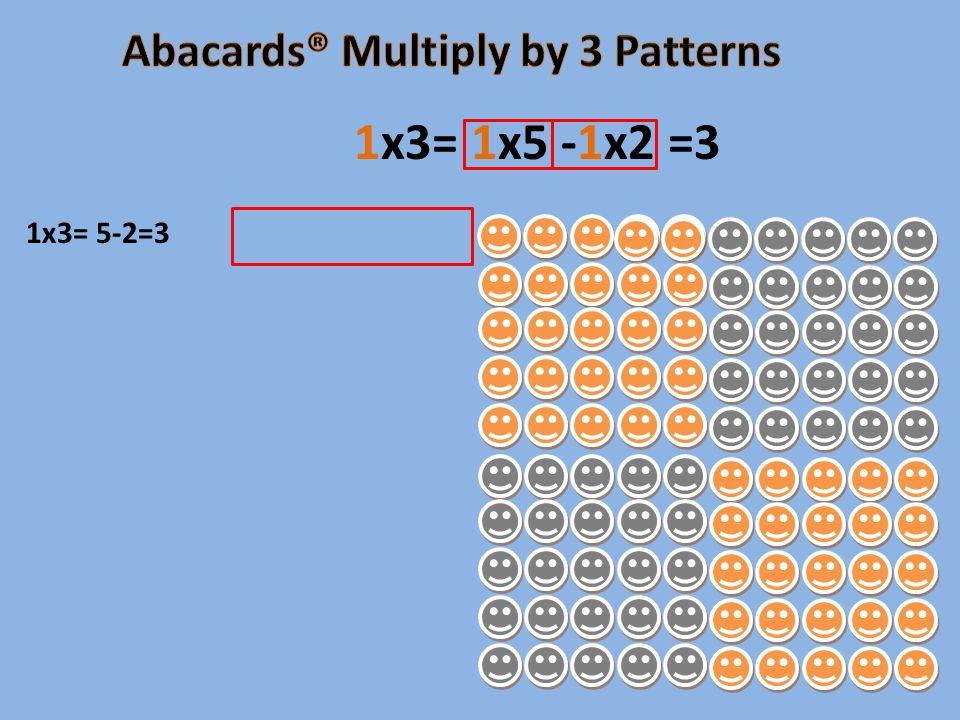 1x3= 5-2=3 1x3= 1x5 -1x2 =3