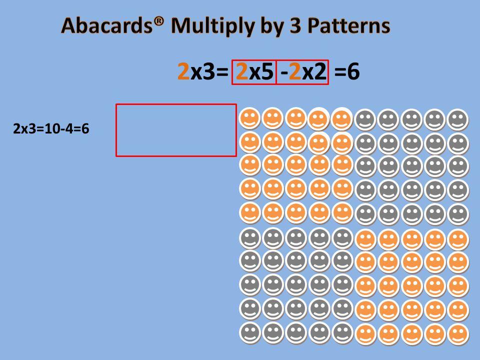 2x3=10-4=6 2x3= 2x5 -2x2 =6