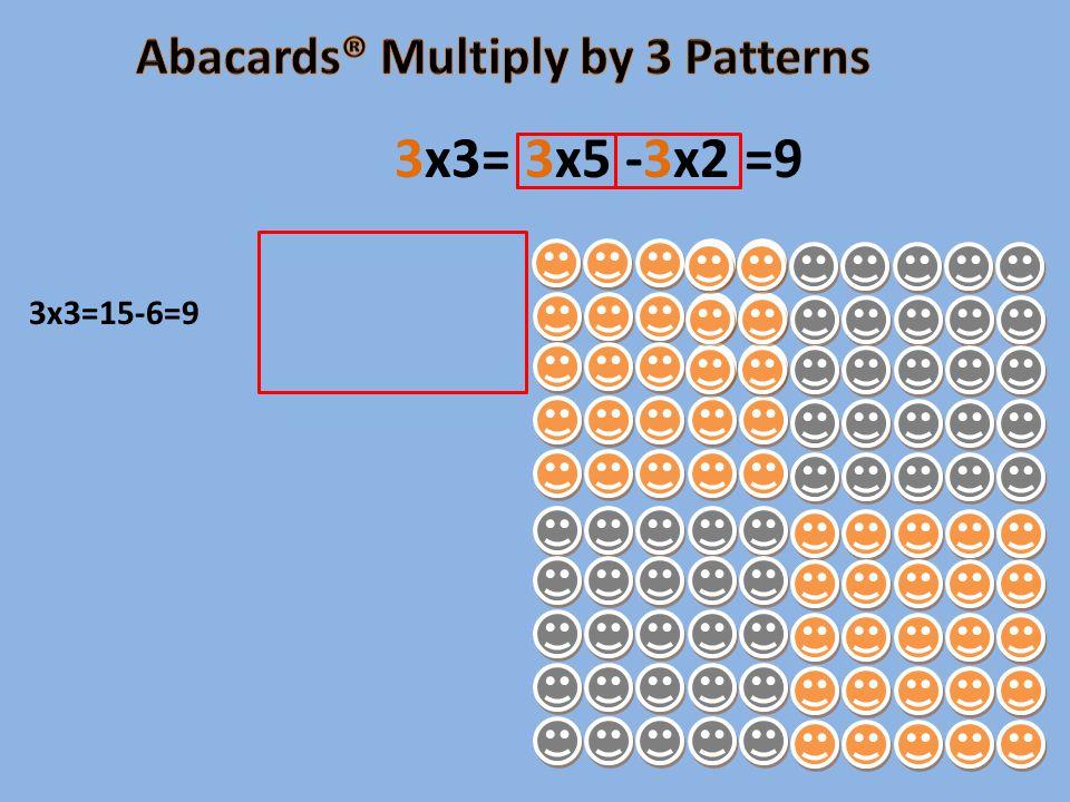 3x3=15-6=9 3x3= 3x5 -3x2 =9