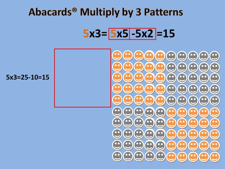 5x3=25-10=15 5x3= 5x5 -5x2 =15