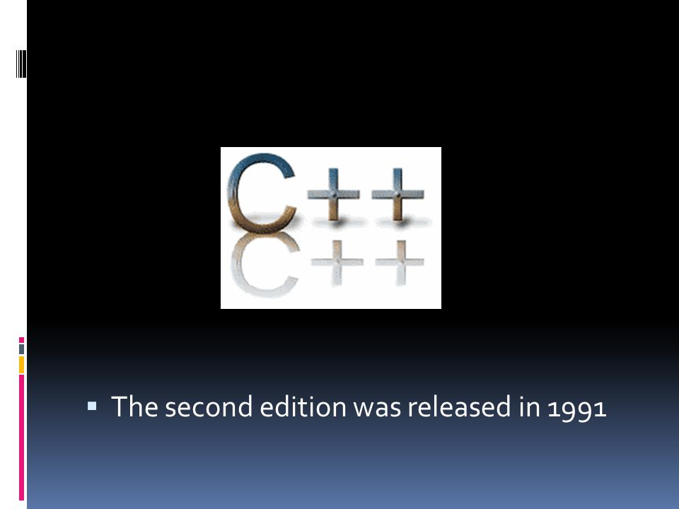  The second edition was released in 1991