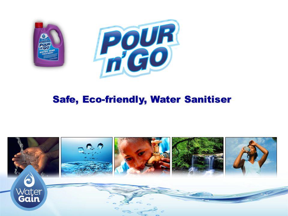 Safe, Eco-friendly, Water Sanitiser
