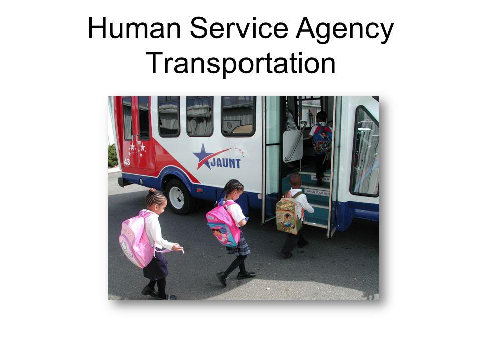 Human Service Agency Transportation