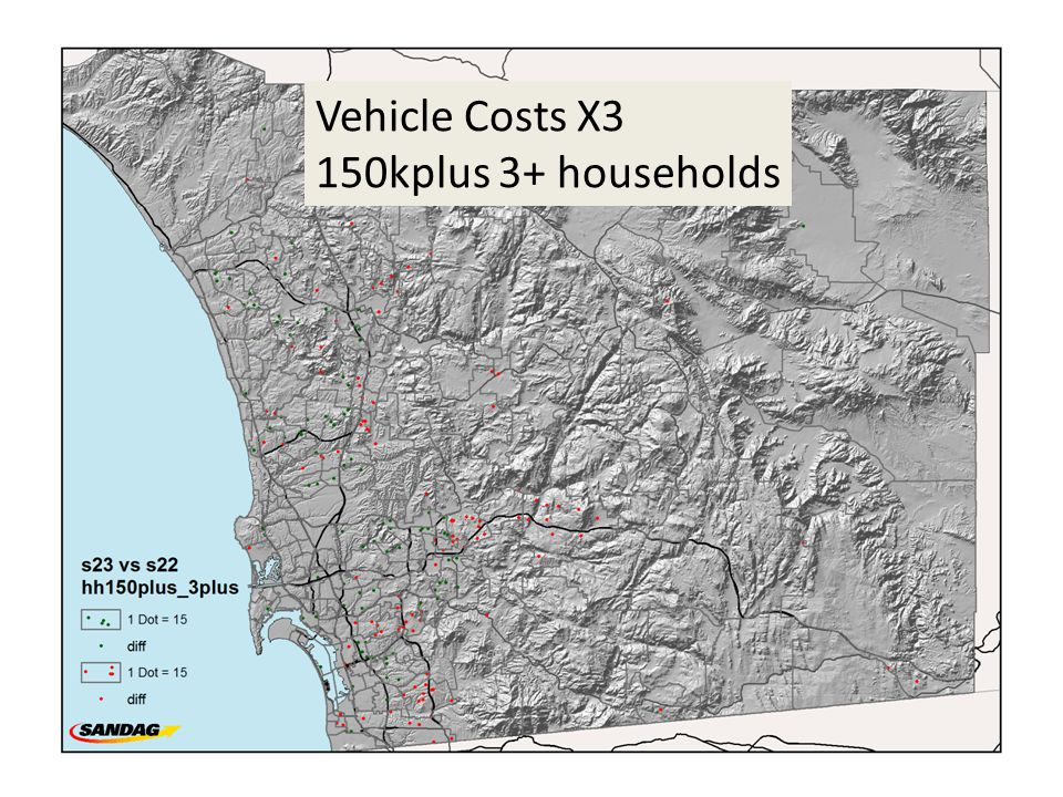Vehicle Costs X3 150kplus 3+ households