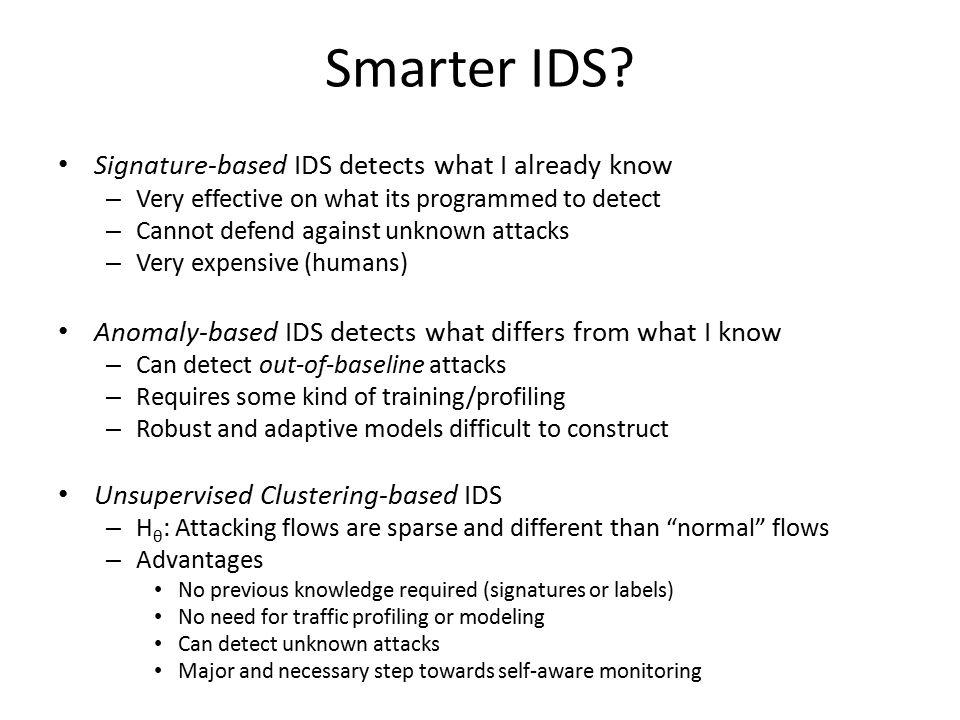 Smarter IDS.