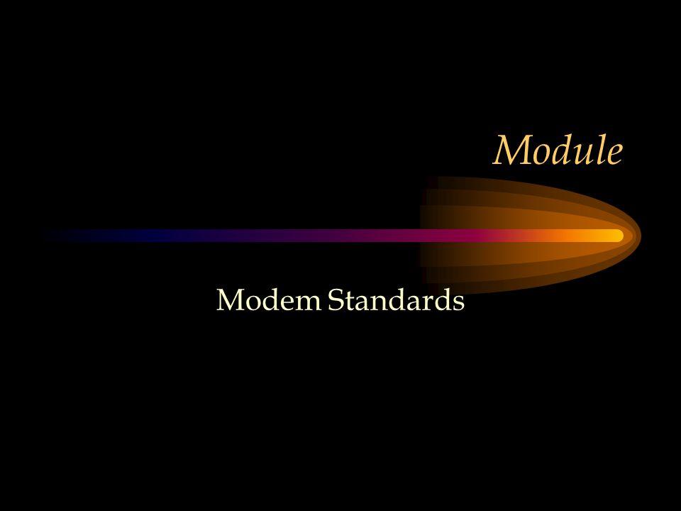 Module Modem Standards