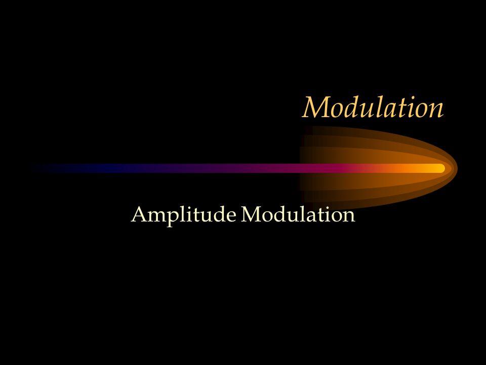 Modulation Amplitude Modulation