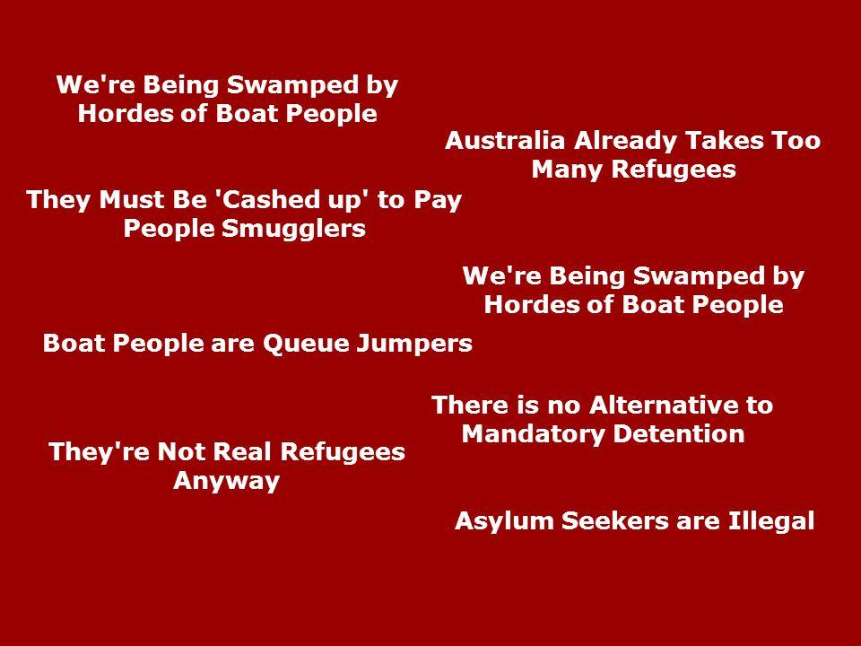 Myths about Asylum Seekers