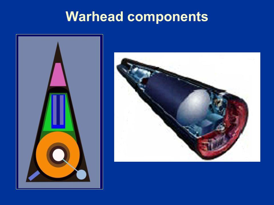 Warhead components