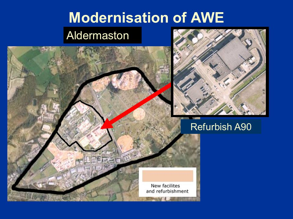 Modernisation of AWE Refurbish A90 Aldermaston