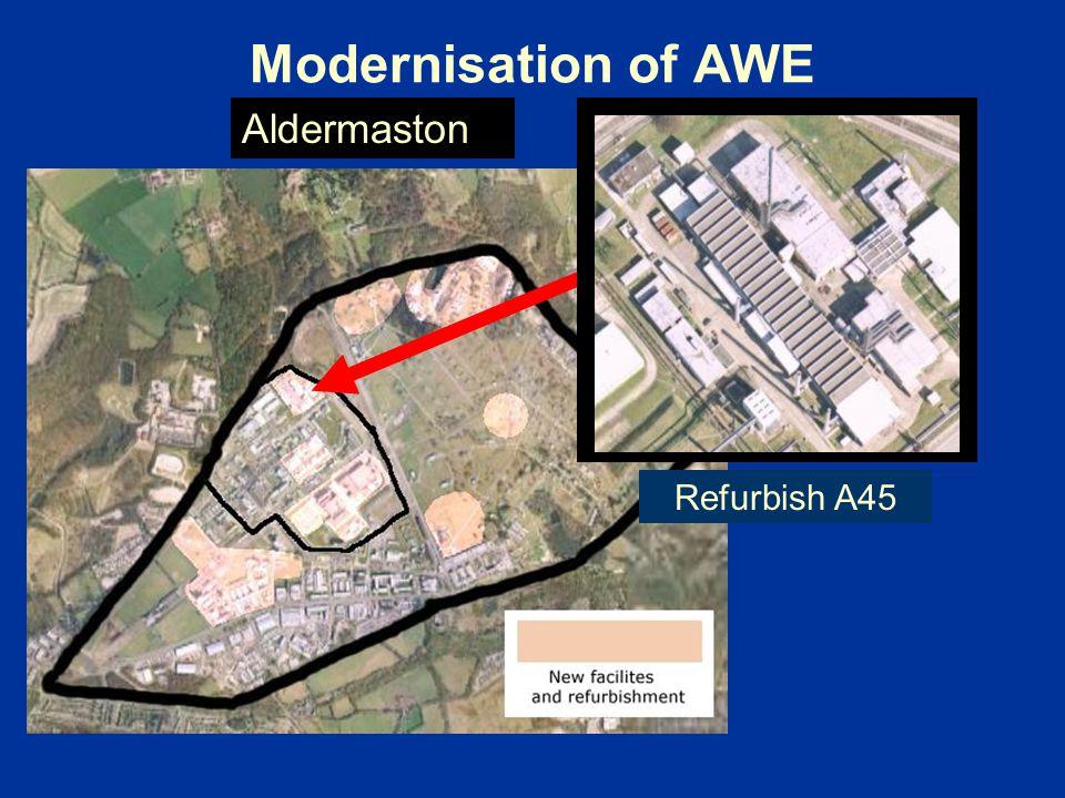 Modernisation of AWE Refurbish A45 Aldermaston