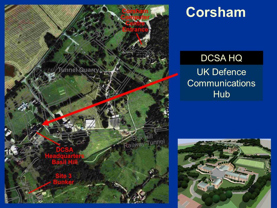 Corsham UK Defence Communications Hub DCSA HQ