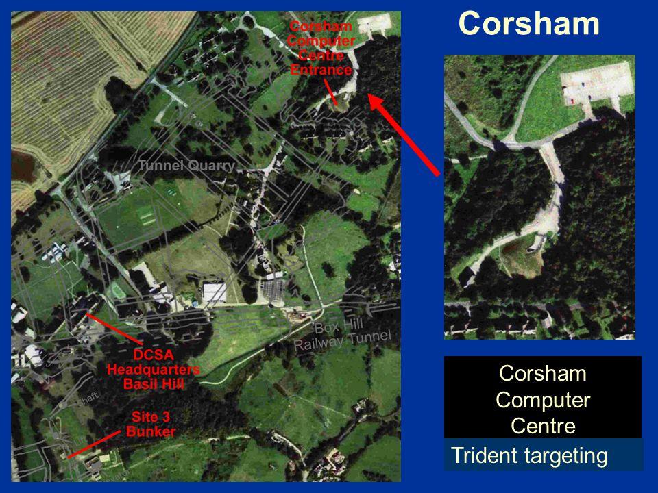 Corsham Computer Centre Trident targeting