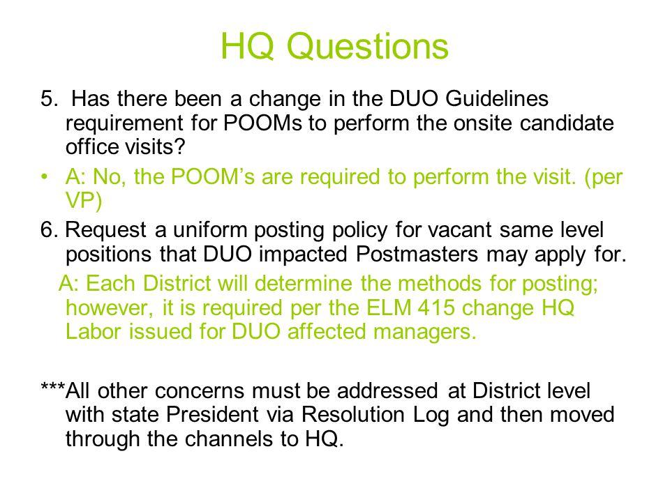 HQ Questions 5.