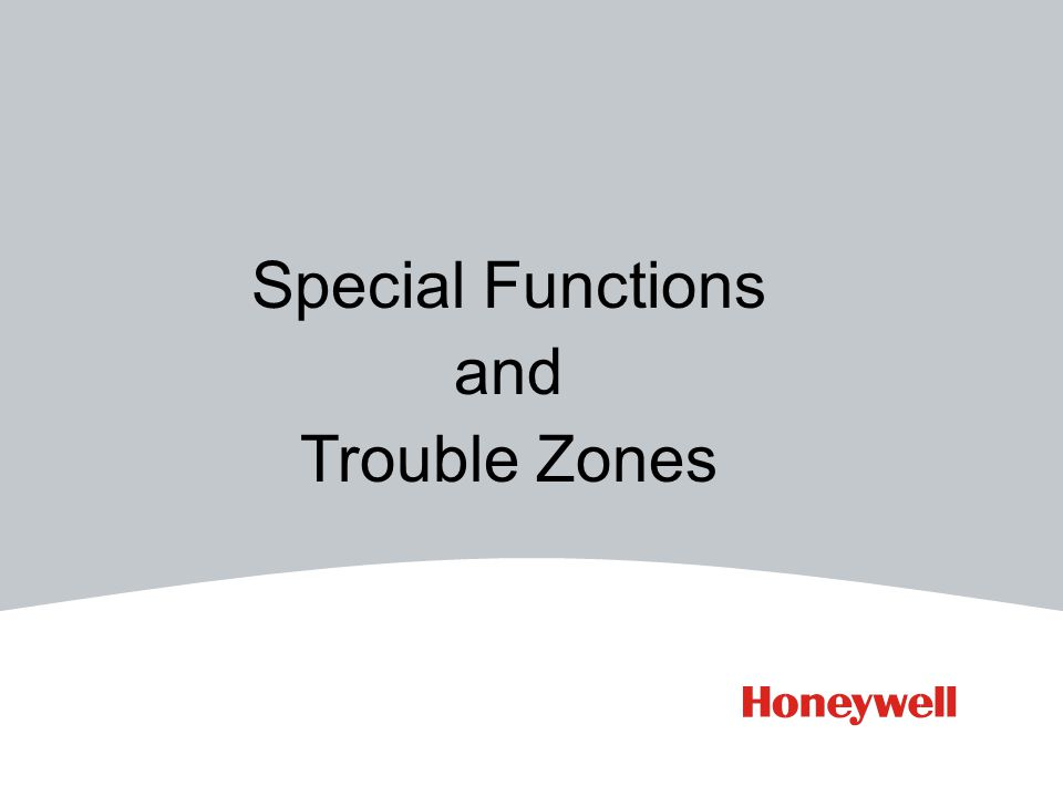 Trouble Zone is a previously written 'trouble' (ZT)