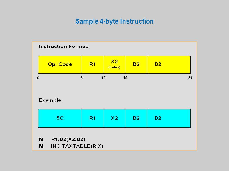 Sample 4-byte Instruction