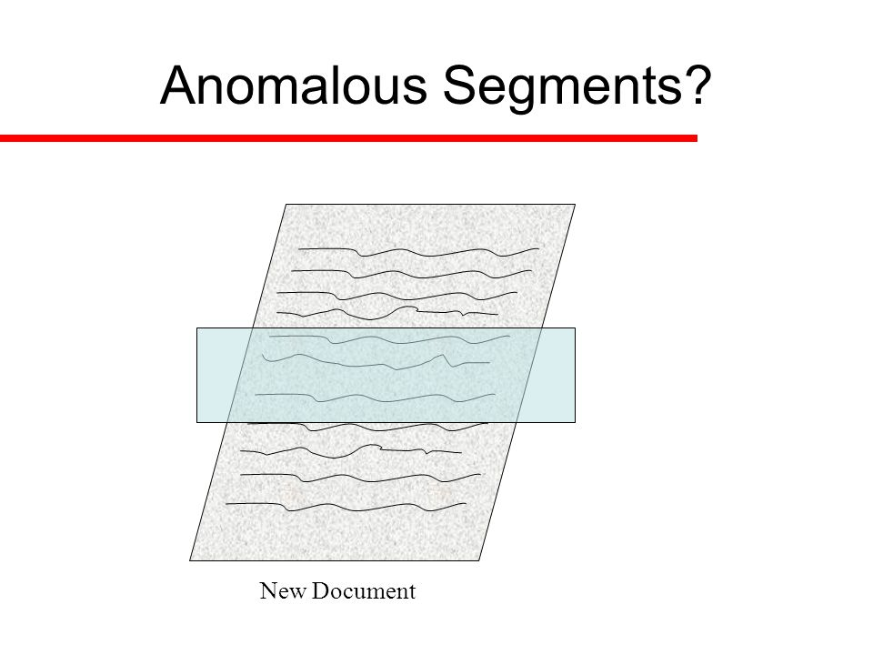 Distance from complement Segment the text
