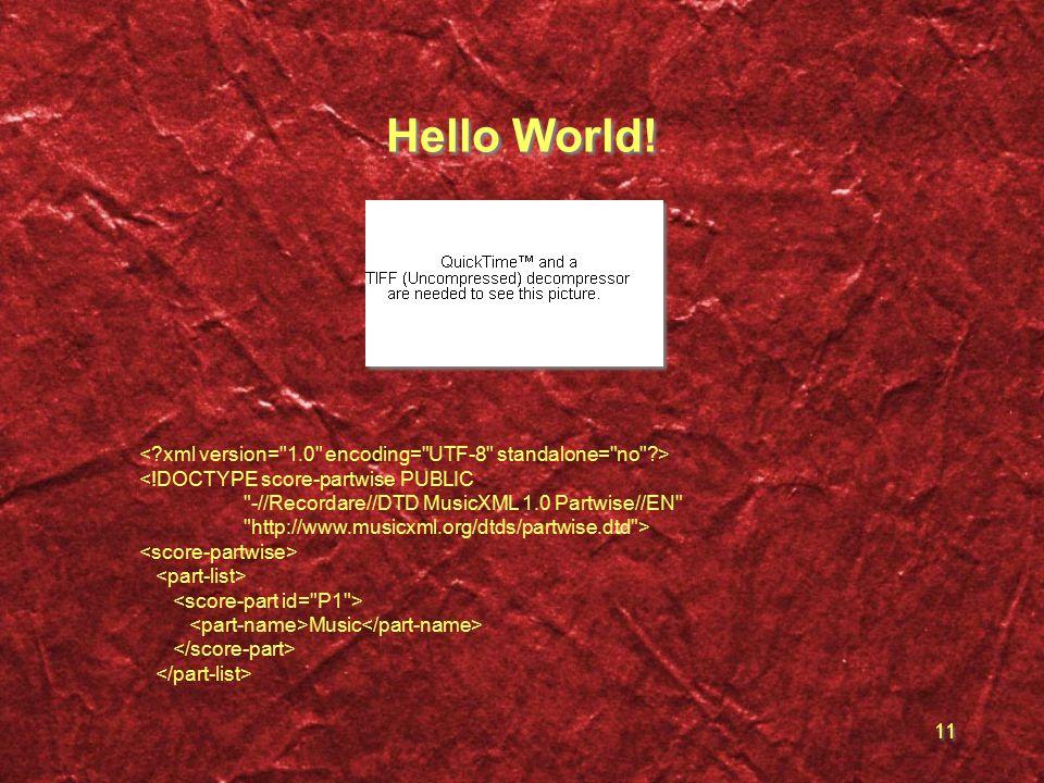 11 Hello World.