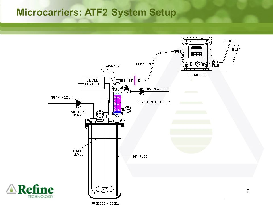 6 Microcarriers: ATF10 System Setup