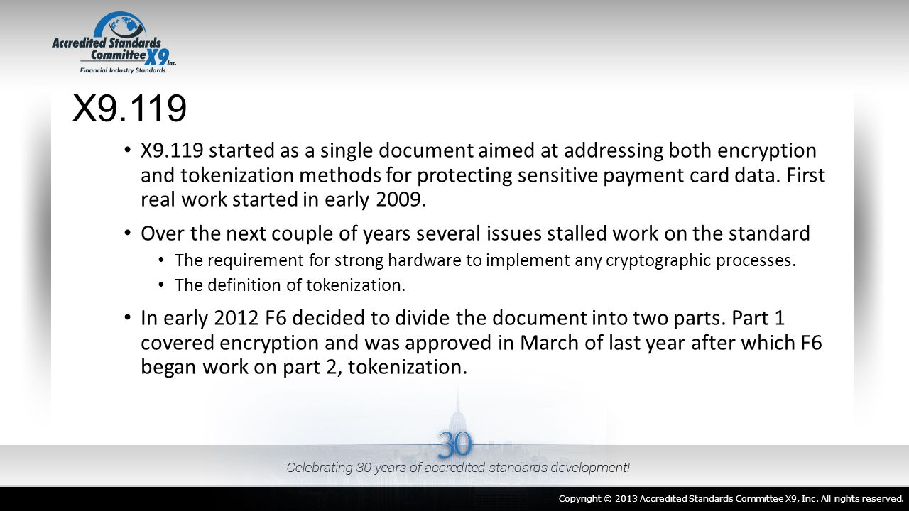 Secure Isolation of the Tokenization System Architecturally, Encryption is typically used between two entities.
