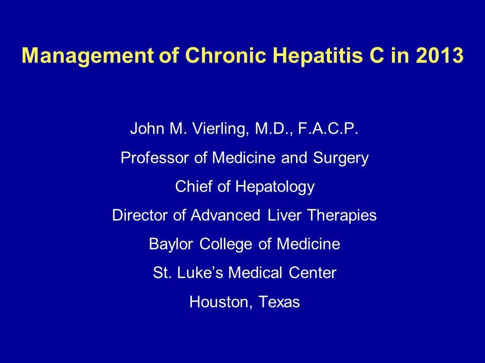 HCV Antiviral Therapy for Genotype 1 Cirrhotics