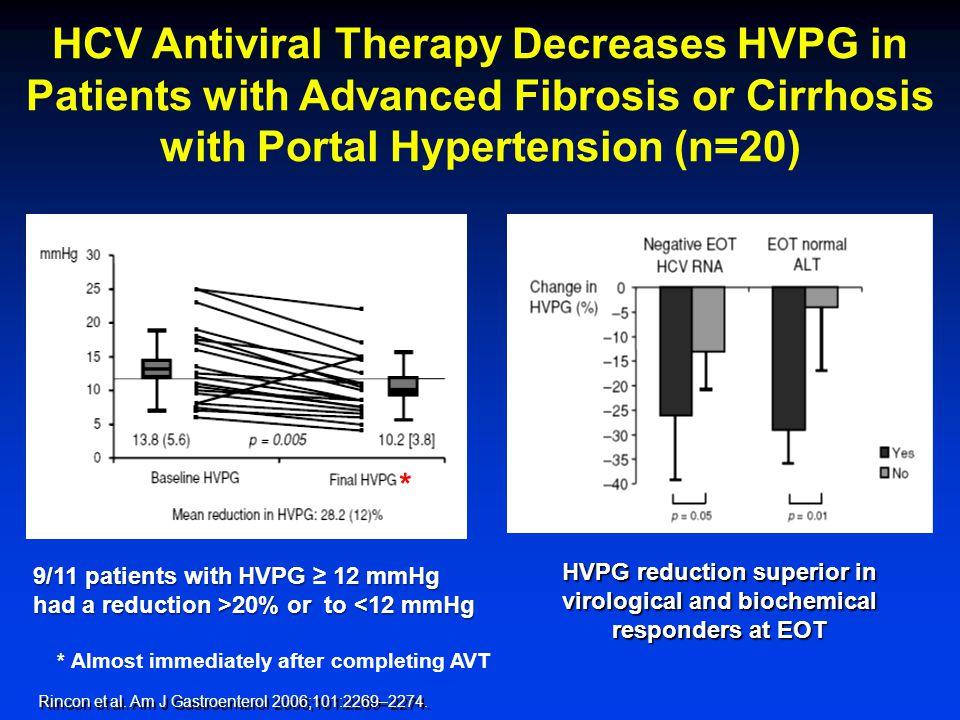 12 0 0 60 24 72  HVPG > 10%  HVPG  10% % Free of varices Months 100 80 60 40 20 0 0 36 48 p=0.014 Groszmann, Garcia-Tsao, Bosch et al.
