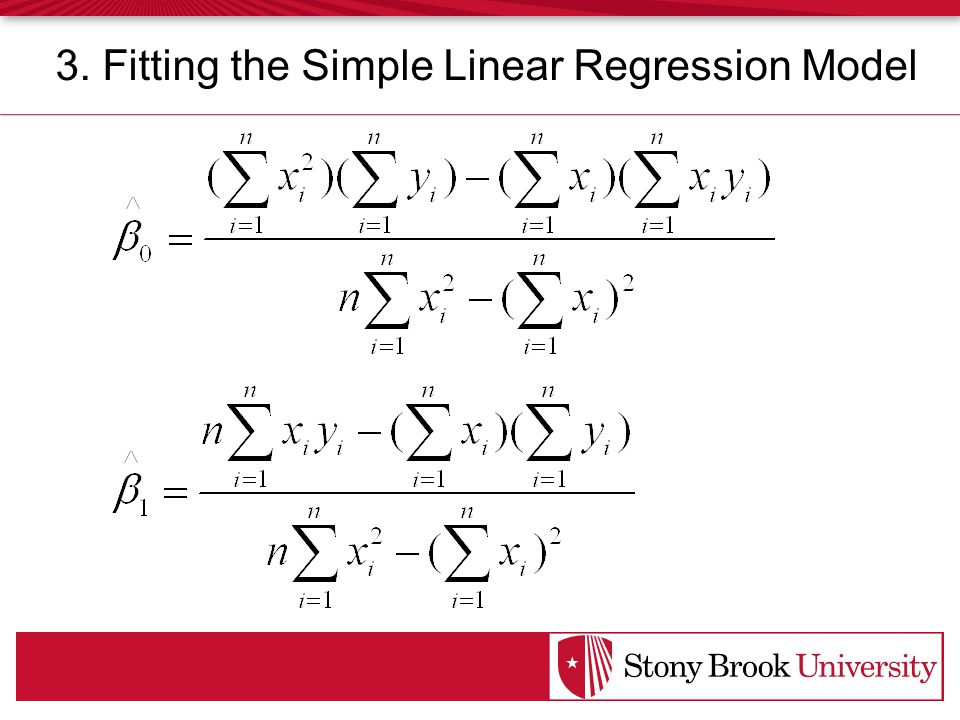 3. Fitting the Simple Linear Regression Model