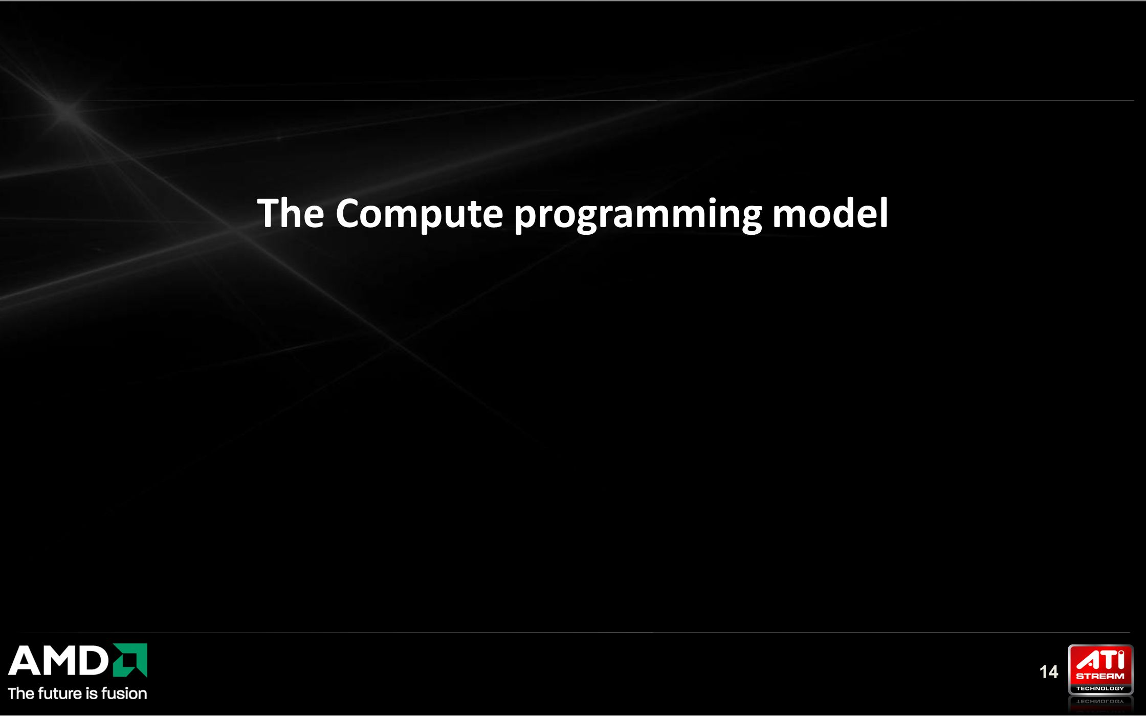 14 The Compute programming model