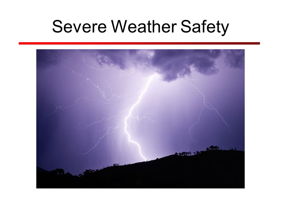 Severe Thunderstorms Considered severe if: Winds over 56 mph Hail 1 inch in diameter or larger Funnel cloud or tornado reported