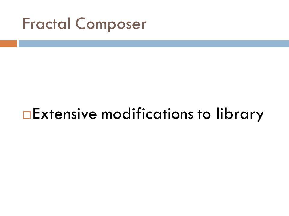 Fractal Composer  Solution!