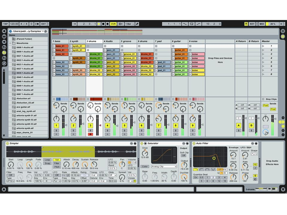 Fractal Composer  Added basic sequencing