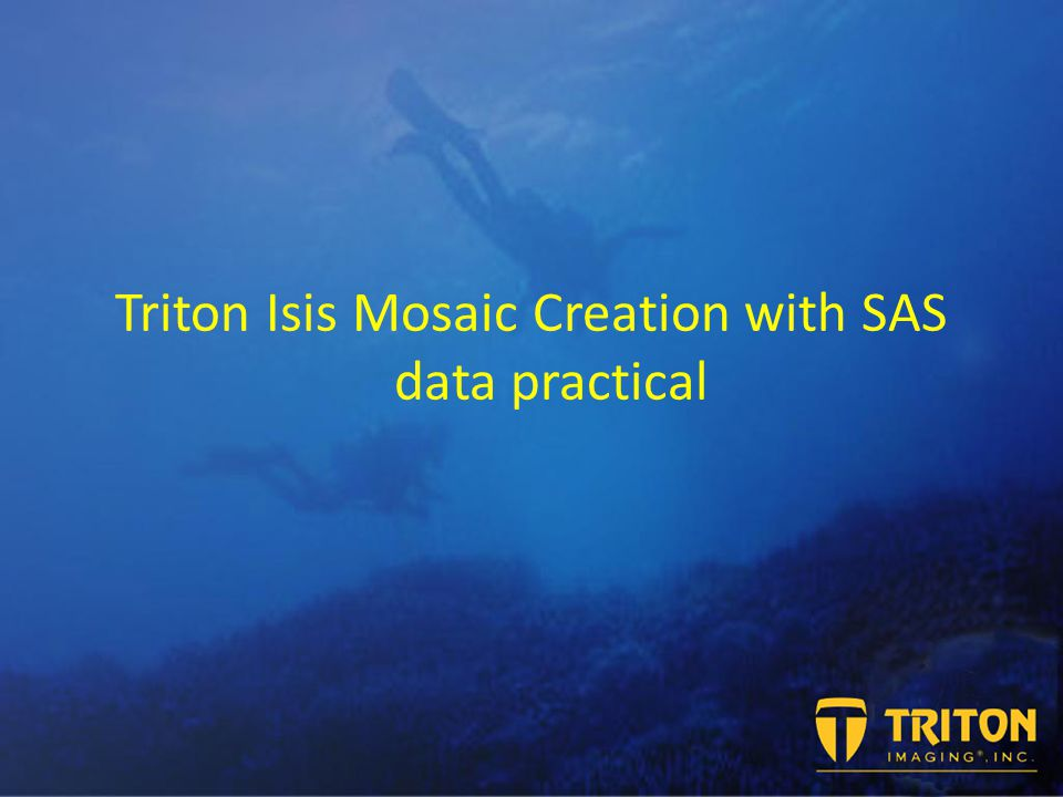 Triton Isis Mosaic Creation with SAS data practical
