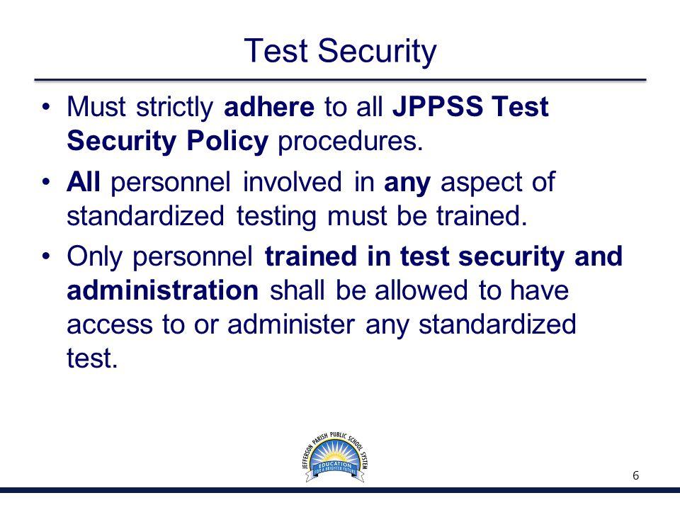 Assessment Administration 57