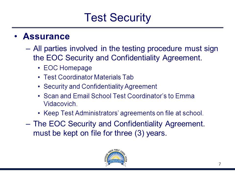 Assessment Administration 48
