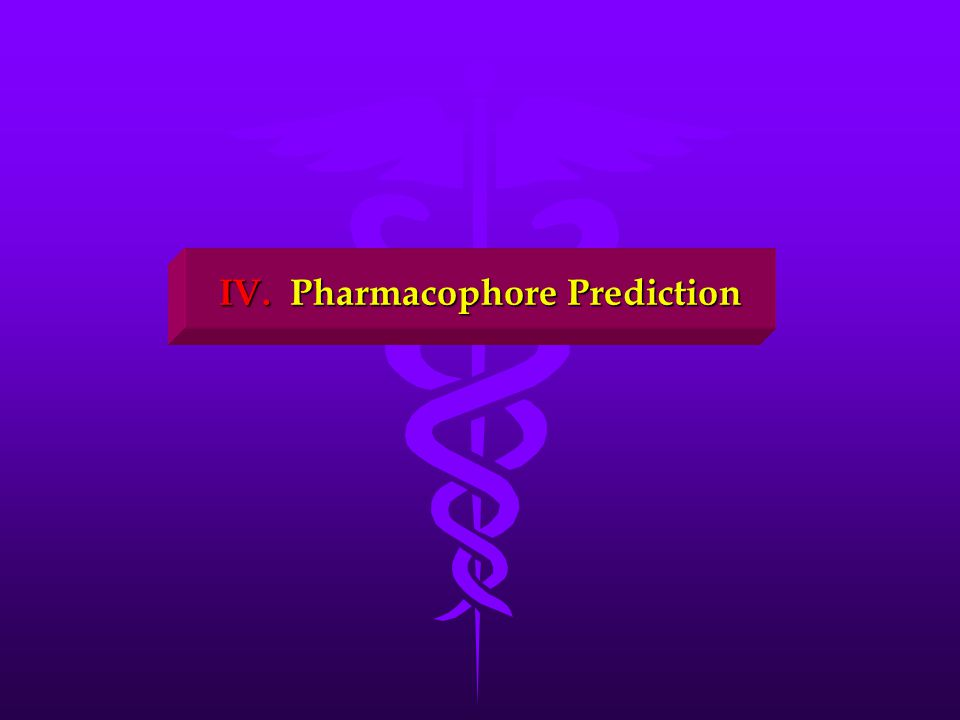 IV. Pharmacophore Prediction