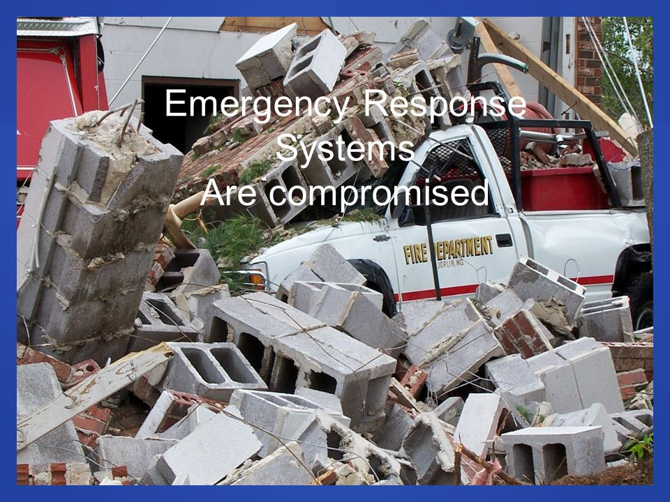 Emergency Response Systems Are compromised