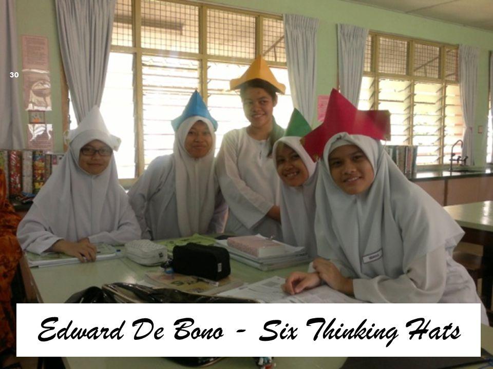 Edward De Bono - Six Thinking Hats 30