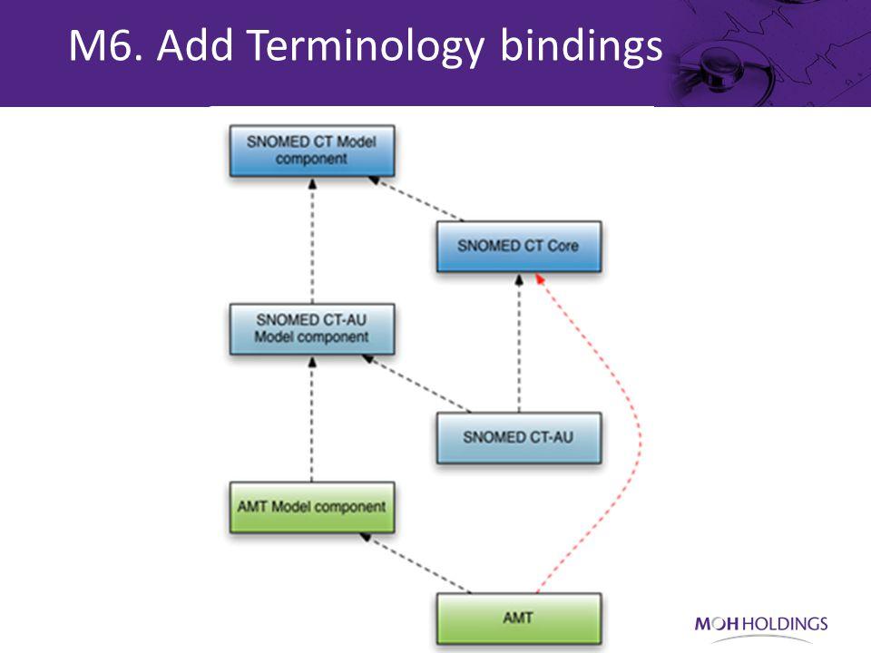 M6. Add Terminology bindings